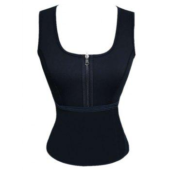 Zippered Corset Vest
