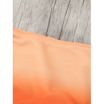 Seamless Surf Tie-Dye Skimpy Bikini Bottoms - ORANGE ORANGE