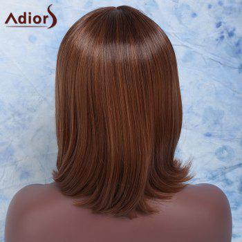Vogue Women's Short Straight Centre Parting Mixed Color Synthetic Wig - COLORMIX