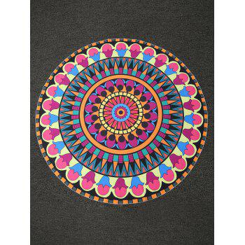 Bohemian Print Round Shape Beach Throw