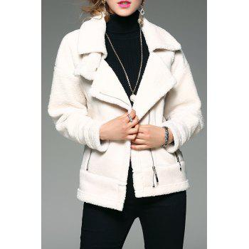 Fleece-Lined Zip Up Coat