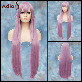 Gorgeous Long Straight Side Bang Lolita Adiors Synthetic Wig