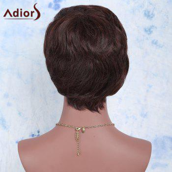 Adiors Hair Synthetic Curly Ultrashort Wig -  BROWN