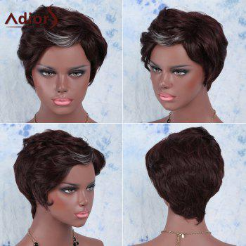 Adiors Hair Short Highlights Straight Synthetic Wig - COLORMIX COLORMIX