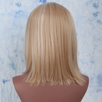 Colormix Side Parting Medium Straight Synthetic Wig -  COLORMIX