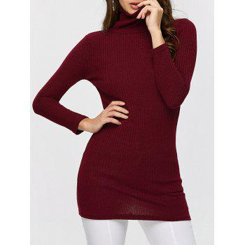 Turtleneck Ribbed Jumper