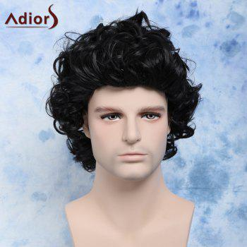 Short Curly Men's Cosplay Synthetic Wig