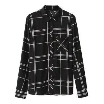 Checked Casual Shirt With Pocket