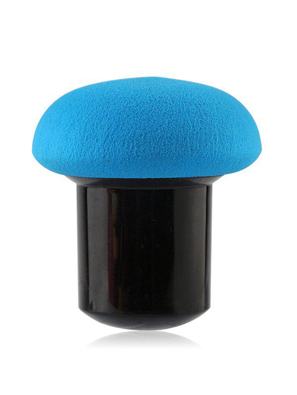 Mushroom Water Swellable Sponge Brush - BLUE
