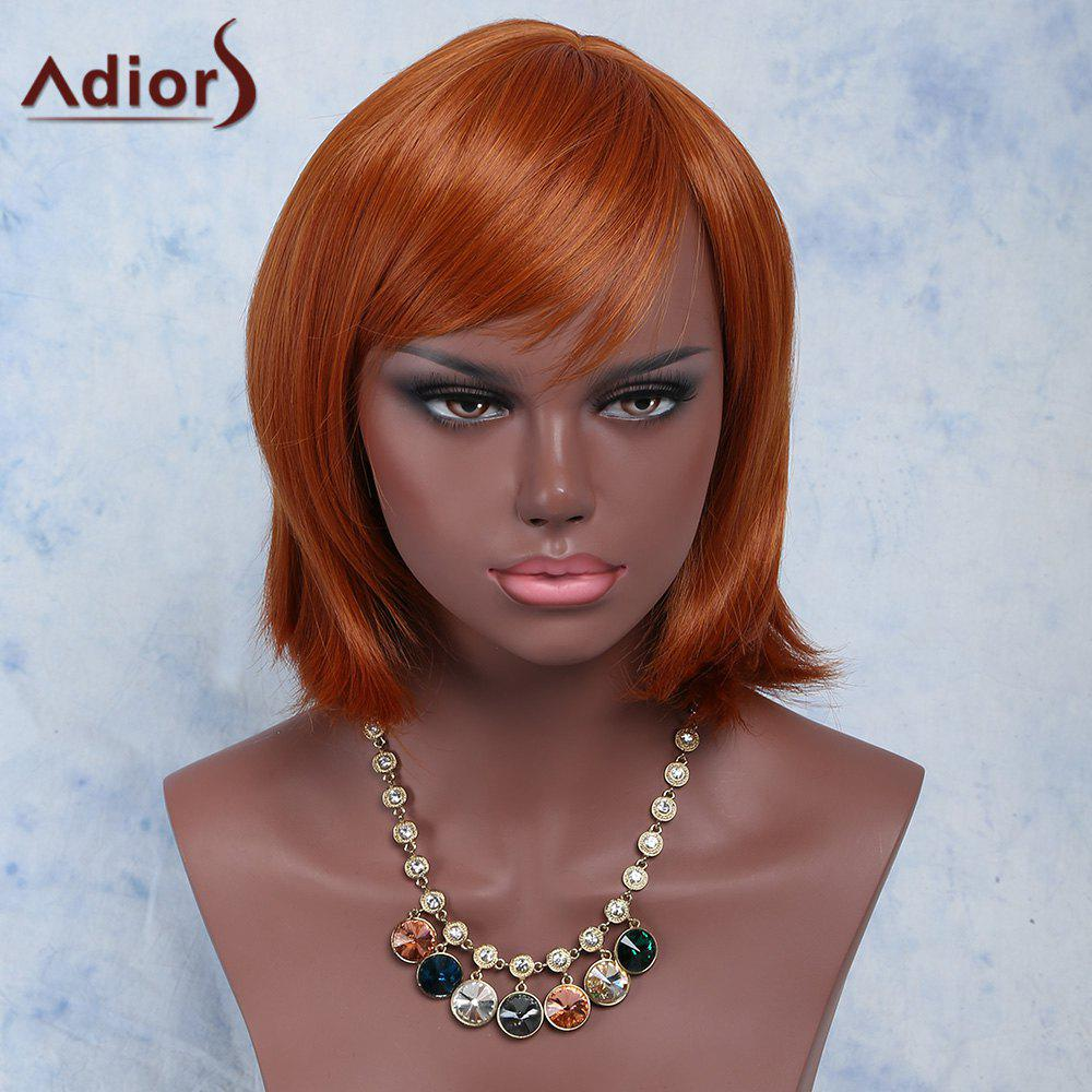 Stylish Women's Side Bang High Temperature Fiber Wig - COLORMIX