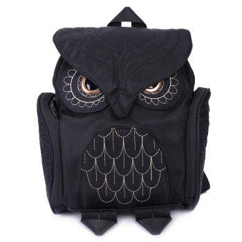 Nylon Owl Backpack