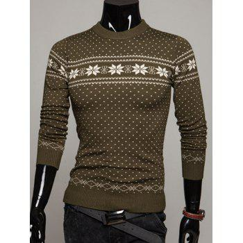 Pullover Graphic Christmas Sweater