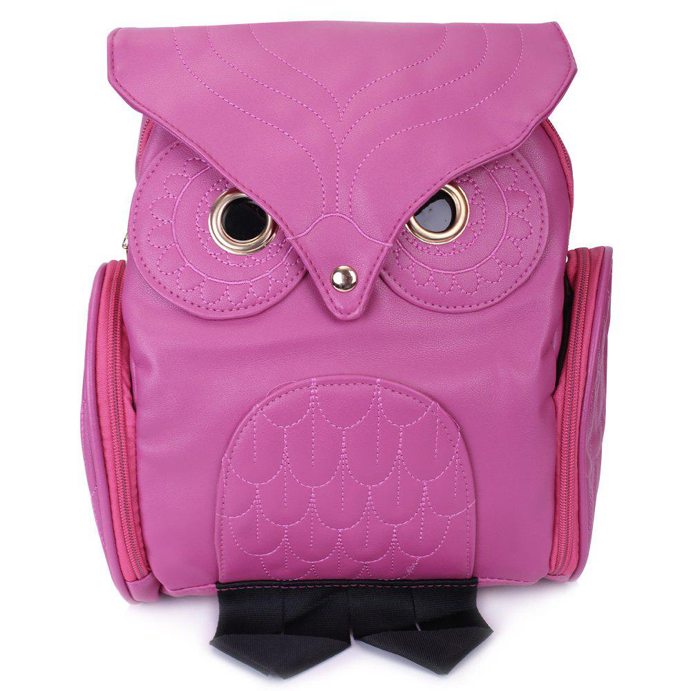 Preppy Owl Pattern and Stitching Design Satchel For Women leisure women s satchel with stitching and black design