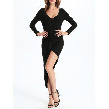 Bodycon Tulip Asymmetrical Dress