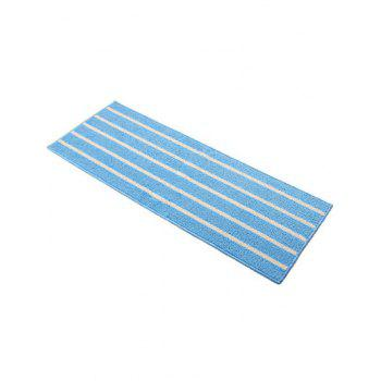 Stripe Design Antislip Bathroom Bath Mat -  BLUE