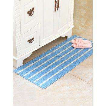 Stripe Design Antislip Bathroom Bath Mat - BLUE BLUE