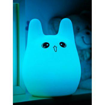 Colorful Cartoon USB Charging Silica Gel LED Night Light