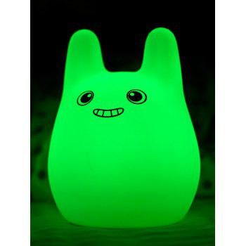 Colorful Silica Gel Cartoon USB Charging Kids Gift LED Night Light