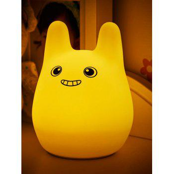Colorful Silica Gel Cartoon USB Charging Kids Gift LED Night Light - COLORFUL