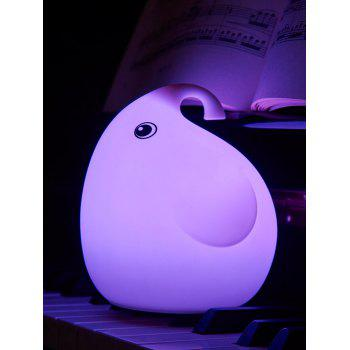 Colorful USB Charging Cartoon Silica Gel LED Night Light