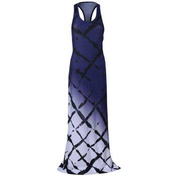 Ombre Maxi Racerback Dress