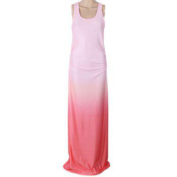 Ombre Maxi Sleeveless Dress