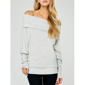 Off The Shoulder Batwing Sleeve Top