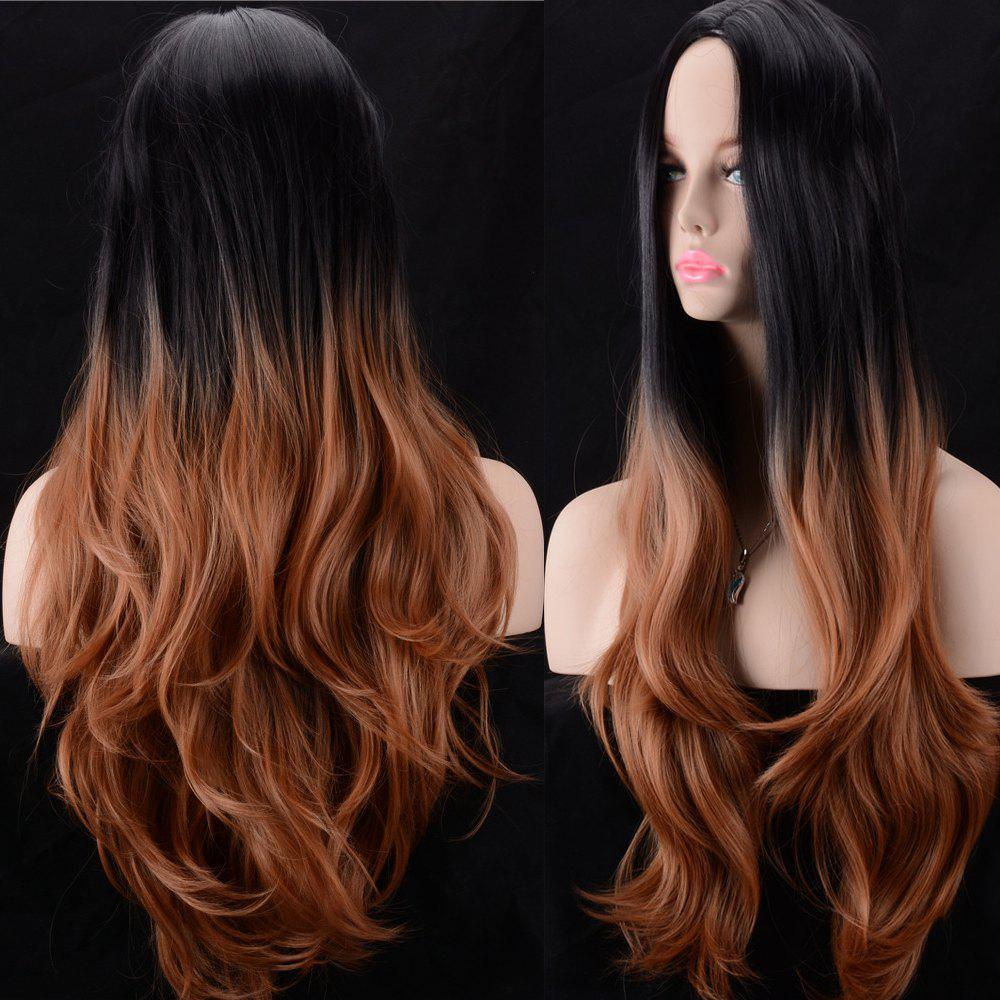 Colormix Ultra Long Middle Parting Wavy Synthetic Wig
