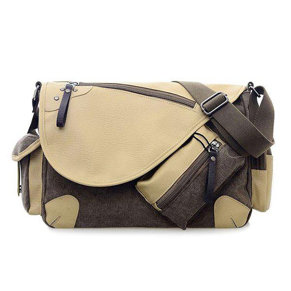 FlapPU Insert Messenger BagBags<br><br><br>Color: GRAY