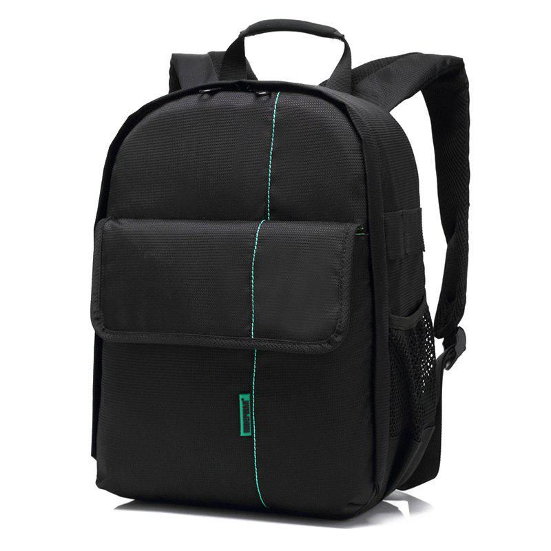 Backpack With Camera CompartmentBags<br><br><br>Color: BLACK