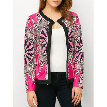 Open Front Tribe Print Cardigan