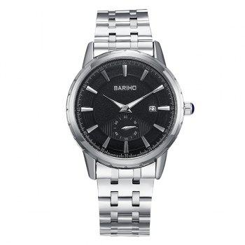 Analog Stainless Steel Watch
