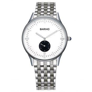 Business Quartz Stainless Steel Band Watch