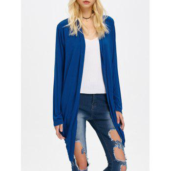 Open Front Slimming Asymmetrical Cardigan