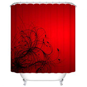 Thicken Polyester Waterproof Bath Shower Curtain