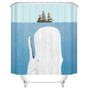 41 Off 2019 Sea Shark Polyester Waterproof Shower