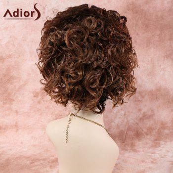 Colormix Short Curly Fashion Synthetic Hair Wig -  COLORMIX