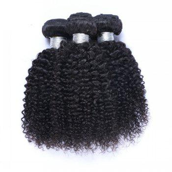 1 Pc 6A Virgin Kinky Curly Indian Hair Weave