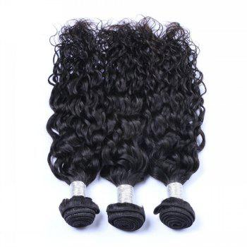 1 Pc 6A Virgin Natural Curly Indian Hair Weave - 12INCH 12INCH