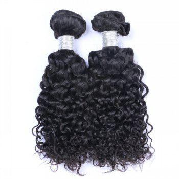 1 Pc 6A Virgin Water Curly Indian Hair Weave - 10INCH 10INCH