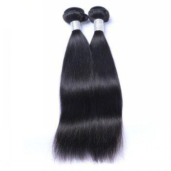 1 Pc 6A Virgin Straight Indian Hair Weave