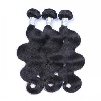 1 Pc 6A Virgin Body Wave Indian Hair Weave - 20INCH 20INCH