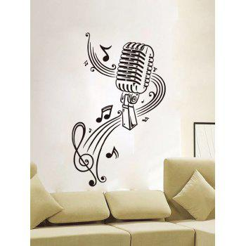 Music Score Living Room Removable Wall Stickers