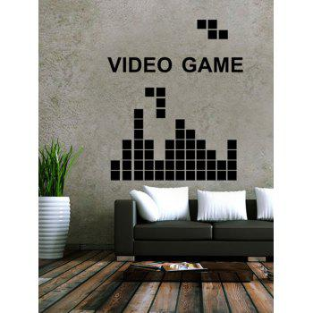 Video Game Design Living Room Removable Wall Stickers