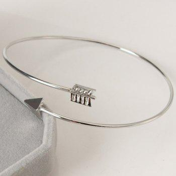 Arrow Alloy Cuff Bracelet