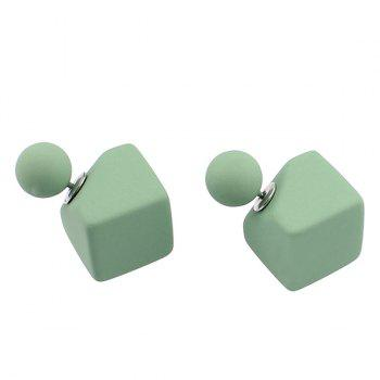 Geometric Shape Stud Earrings