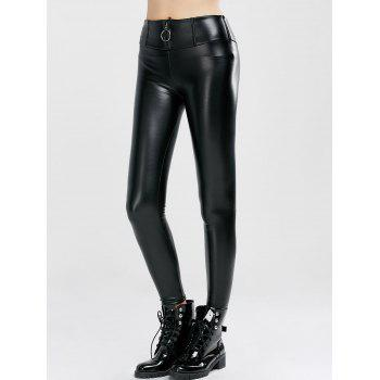 Bodycon Faux Leather Pencil Pants