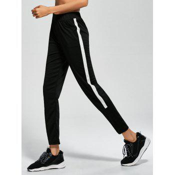 Striped Brim Ninth Sport Pants with Pocket