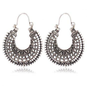 Filigree U Shape Earrings