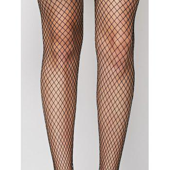 Fishnet Sheer  Pantyhose - ONE SIZE ONE SIZE
